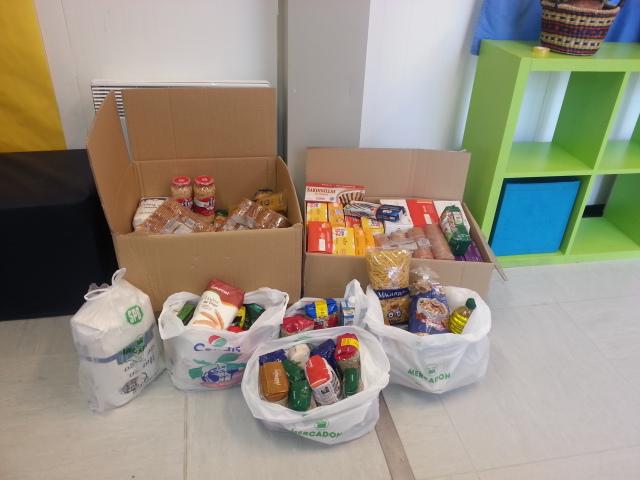 recollida aliments escola