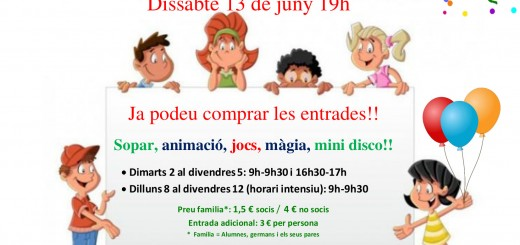 Poster_festa final de curs 2015