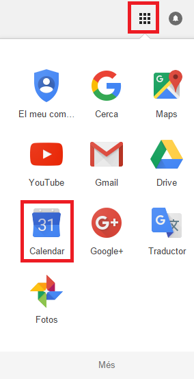 selectGoogleCalendar