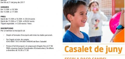 Casalet Juny 2017