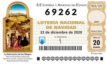 Loteria Nadal AFA Paco Candel 2020